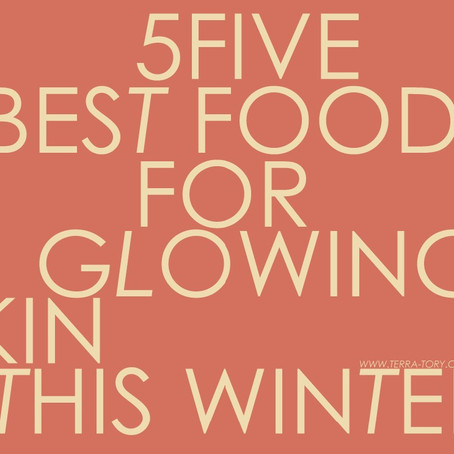 5 Best Foods For Glowing Skin This Winter
