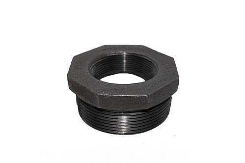 Black Malleable Pipe Fitting
