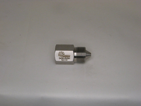 """SS Adapter 9/16"""" HM X 1/2"""" FP"""