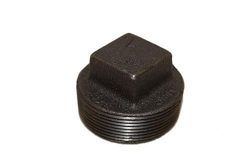 Black Malleable Plug