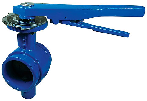 """Grooved Butterfly Valve 4"""""""