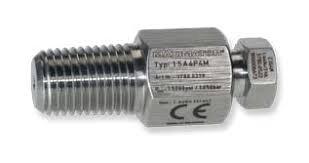 "Adapter 1/4"" MM X 1/4"" MP 15K"