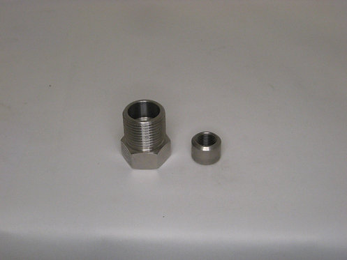SS Adapter 9/16 HM X 9/16 HM