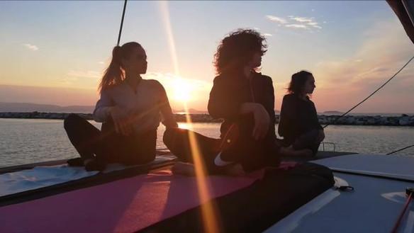 Yoga Sunset Cruise!
