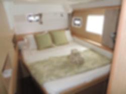 Naxos Yachting Catamarans DANAE & RENA, interior port aft cabin