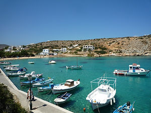 Iraklia island, Small Cyclades islands