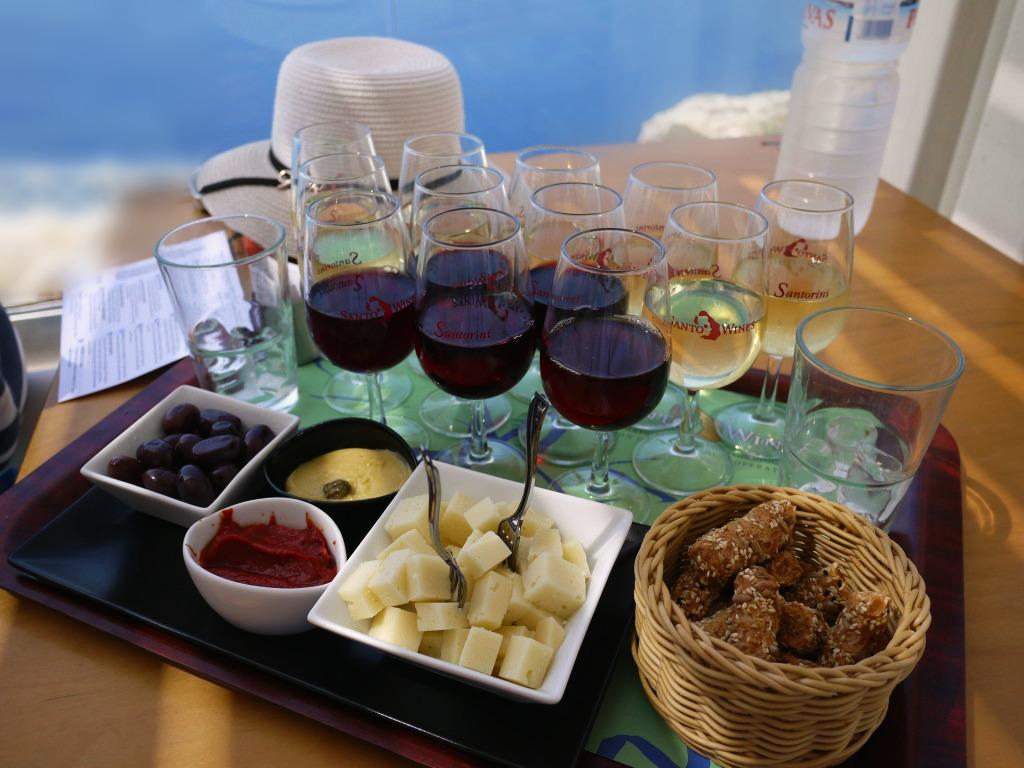 Wine Tasting on-board
