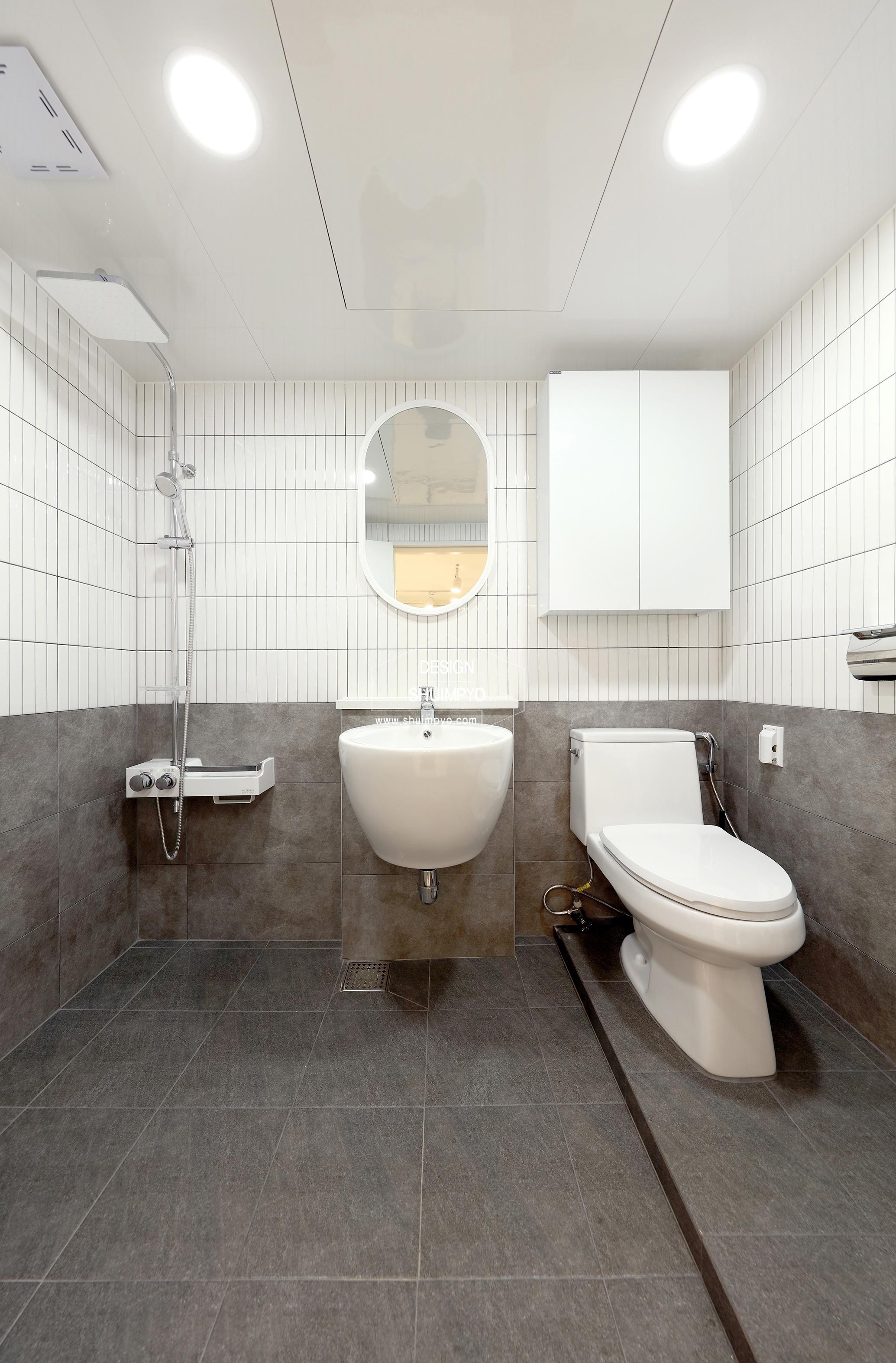 평촌목련우성 욕실