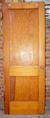 2-Panel Door with Hardware