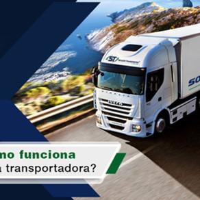 Como Funciona uma transportadora?