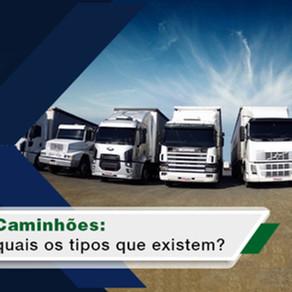 Quais os tipos de caminhões que existem?