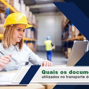 Quais documentos utilizados no transporte de cargas?