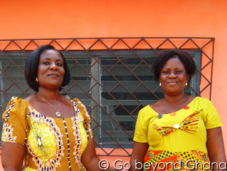 Ghanalaisia luottonaisia ja suomalaisia ajatuksia ystävyydestä