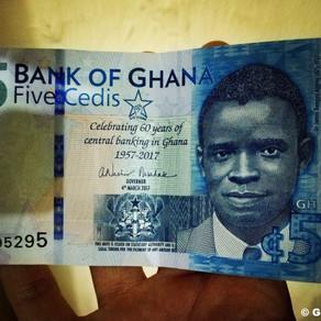 Matkakassa kuntoon! Raha ja kaupankäynti Ghanassa