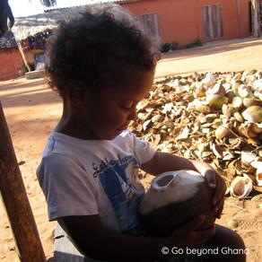 Lapsen kanssa Ghanaan?
