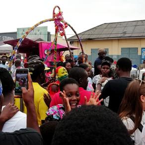 Chale Wote -festivaali Ghanan modernin taiteen näyttämönä