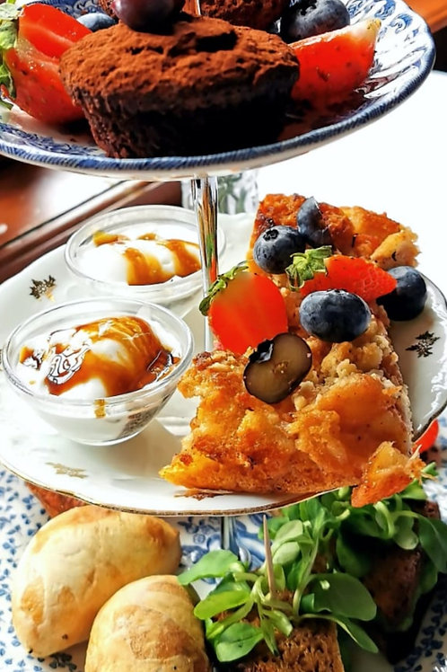 Qwensel Vegan Afternoon Tea - yhdelle