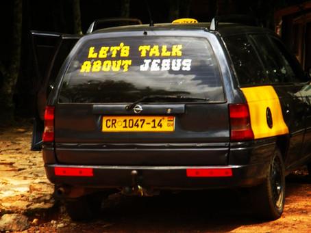 Taksipolitiikkaa Accran kaduilla