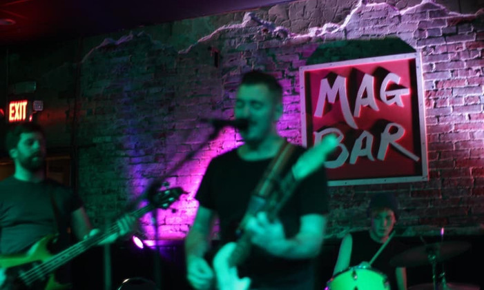 Live at Mag Bar, Louisville, KY, 2019.