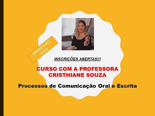 Processos de Comunicação Oral e Escrita