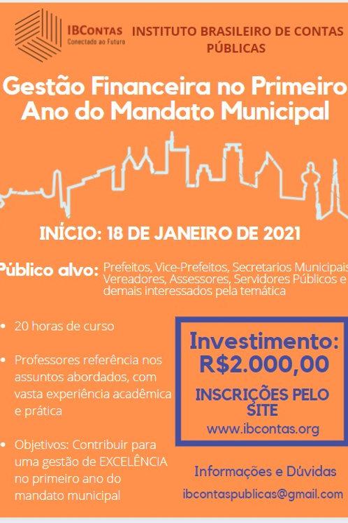 Gestão Financeira no Primeiro Ano do Mandato Municipal