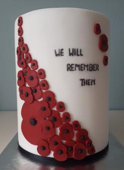 Remembrance cake