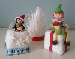 Mini Christmas Cake trio