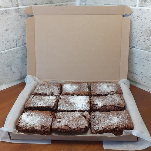 Brownies - box of 9