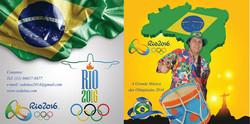 Capa CD Olimpíadas 2016  - Zé da Lua