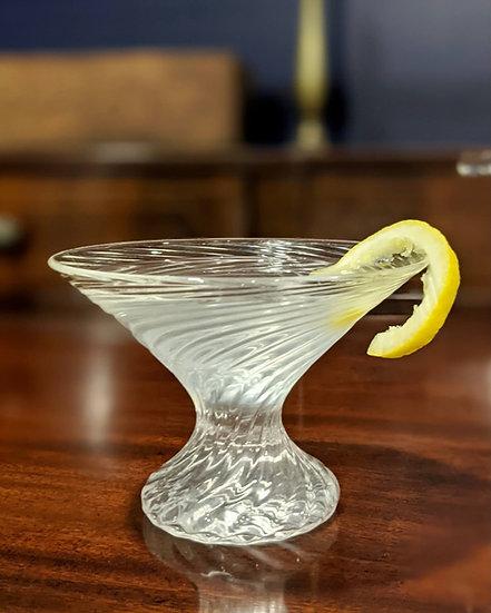 Optic Martini Glass