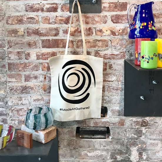 Swirl Canvas Tote Bag