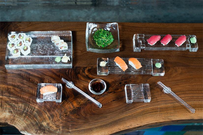 Wood Grain Sushi-ware