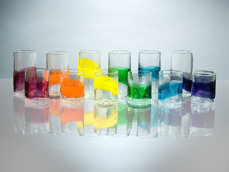 Watercolor Glassware