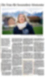Zentralschweiz am Sonntag, Nicole Hermann, Medienbericht, Zeremonien mit Herz
