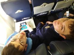 Its a long flight