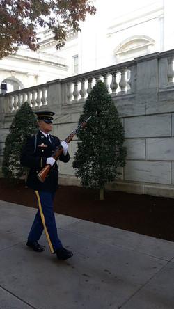 Changing of the guards at Arlington