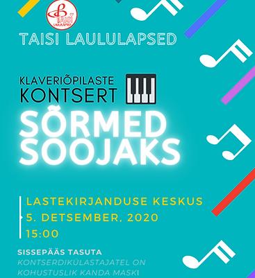 Taisi Laululapsed Solistide Sügiskontsert 2020