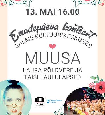 Laura Põldvere ja Taisi Laululapsed Emadepäeva kontsert