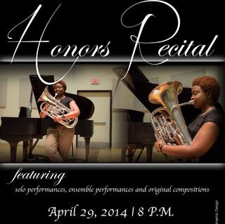 Individual Recital Flyer