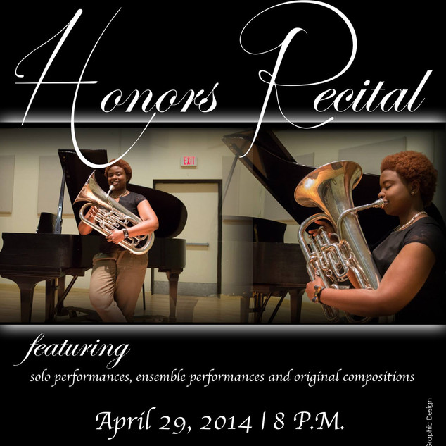 Individual Recital Flyer
