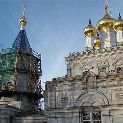Baznicas renovacijas darbi