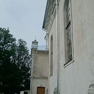 Baznicas jumta renovacija, Skaune