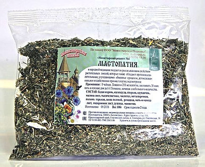 """Травяной сбор """"Мастопатия"""", 100 гр."""