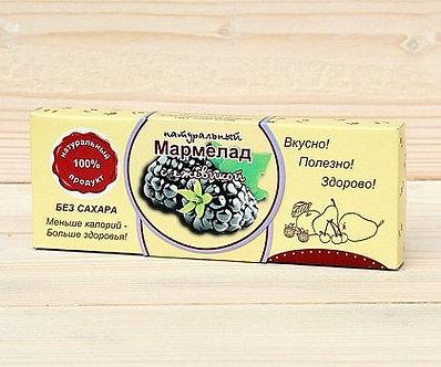 Мармелад  с Ежевикой  без сахара 140 гр