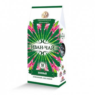 """Чайный напиток """"Северный чай"""" Иван-чай листовой ЗЕЛЁНЫЙ ферментированный, 50 гр."""