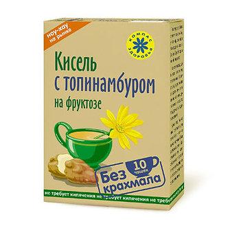"""Кисель с фруктозой овсяно-льняной """"С Топинамбуром"""" 150 гр."""