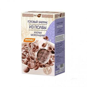 Готовый завтрак из хлопьев полбы шоколадные МИНИ 200гр ВАСТЭКО