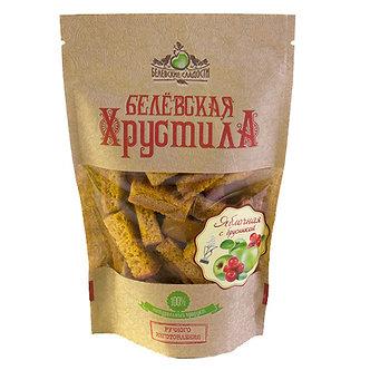 Хрустила Яблочная с брусникой 70 гр.