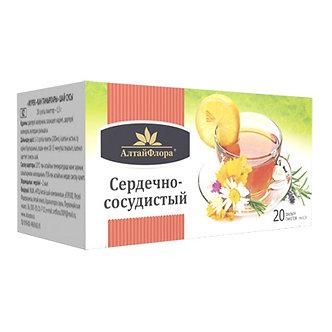 """Напиток чайный """"Сердечно -сосудистый"""" 20 ф/п*1,5 гр"""