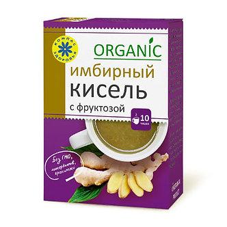 """Кисель с фруктозой овсяно-льняной """"Имбирный"""" 150г кор."""